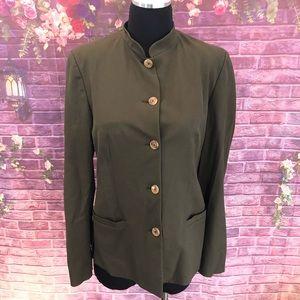 Vintage Piazza Sempione Mandarin Collar Jacket 42